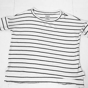 Chaser stripe boxy thermal  top size large